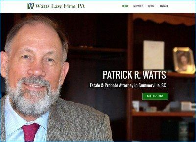 Website Design for Watts Law Firm